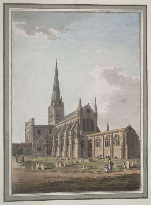 Chichester Cathedral, South-east View